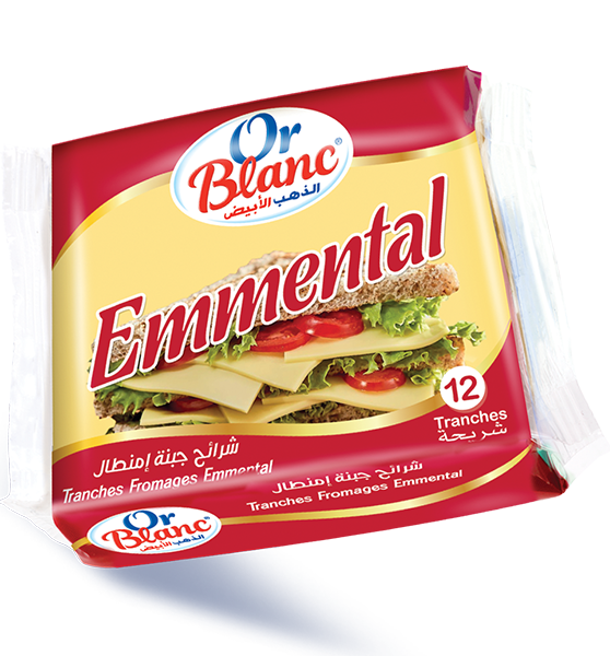 Tranches Fromage Emmental