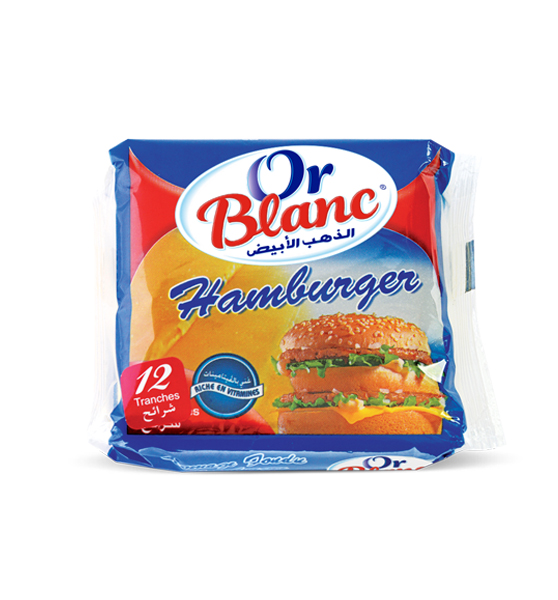 Tranches Fromage hamburger